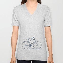 Retro Bike Unisex V-Neck