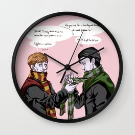 In the Flesh - Cosplay Time! Wall Clock