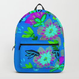 Twilight Hill Blooms Backpack