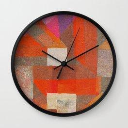 Pequeño Pueblo Wall Clock