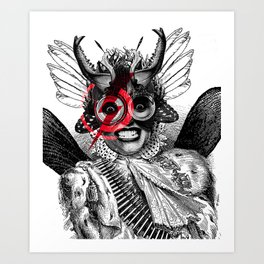 The Baroness Art Print
