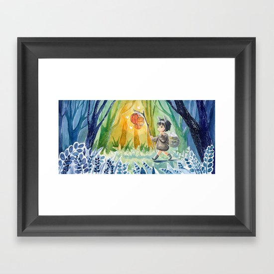 Easter Bunny Framed Art Print