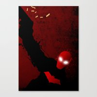 red hood Canvas Prints featuring Red Hood by Ryu the Designer