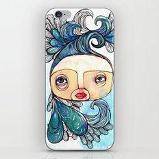 Watergirl iPhone & iPod Skin