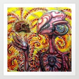 Imagining Cro magnon  Art Print