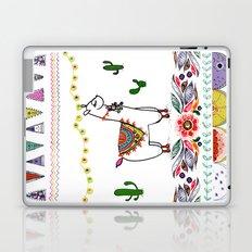 Llama Illustration Laptop & iPad Skin