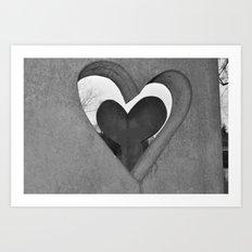 Hearts of Stone Art Print
