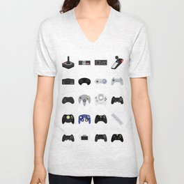 Console Evolution Unisex V-Neck