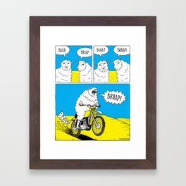 BRAAP Framed Art Print