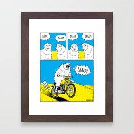 BRAAP Framed Art Print
