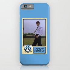 Peter Gibbons Baseball Card iPhone 6s Slim Case