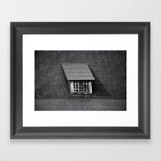 Old Roof Window 6680 Framed Art Print