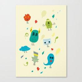 I mostri Canvas Print