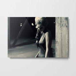 Madame Tristesse Metal Print