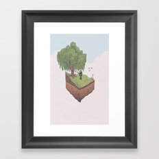 Skyward Sword Framed Art Print
