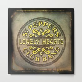 Sgt. Pepper's Lonely Hearts Club Band Metal Print