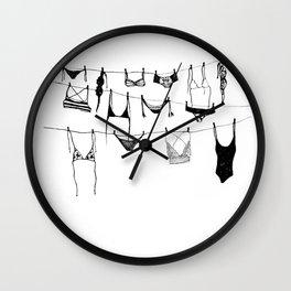 Island Life Series: Laundry Day Wall Clock