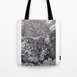 Spiritually Smoking Tote Bag