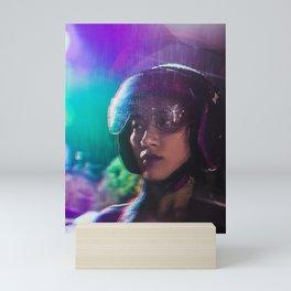 Jun Glitch Mini Art Print