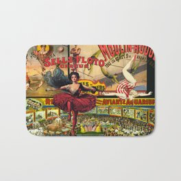 The Circus is in Town Bath Mat