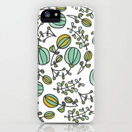 Flowing Floral iPhone Case