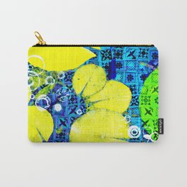 Water Lilies in Spring montage Carry-All Pouch