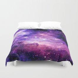 Galaxy Nebula Purple Pink : Carina Nebula Duvet Cover