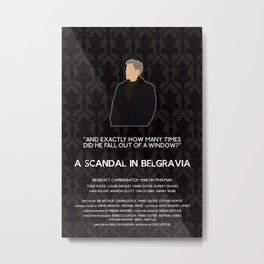 A Scandal in Belgravia - Greg Lestrade Metal Print