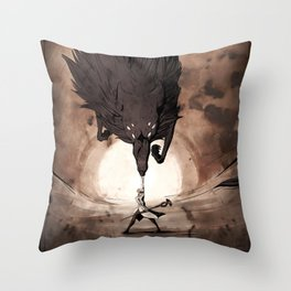 May the Dread Wolf take you Throw Pillow