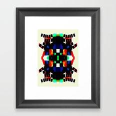 BSTRCT05 Framed Art Print