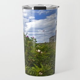 Montauk Point Lighthouse Travel Mug