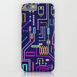 Circuits iPhone Case