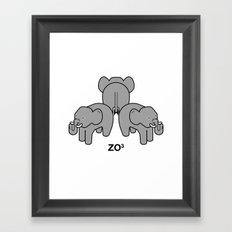 zo3 Framed Art Print