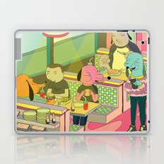 eating at johnny´s Laptop & iPad Skin