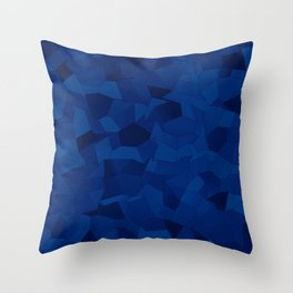 Geometric Shapes Fragments Pattern db Throw Pillow