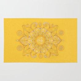 Mandala Chakra Manipura Rug
