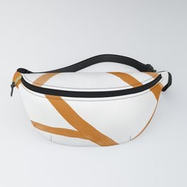 Abstract Map orange Nr. 2 Fanny Pack