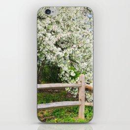 Crab Apple in bloom iPhone Skin