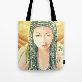 Portrait in the Desert Tote Bag