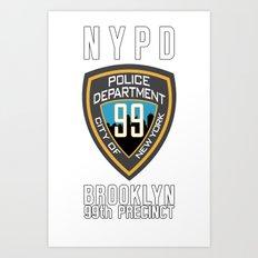 Brooklyn's Finest Art Print