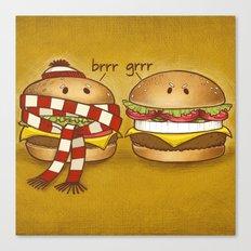 Fast Food Phonics Canvas Print