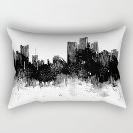 Detroit Rise From The Ashes Rectangular Pillow