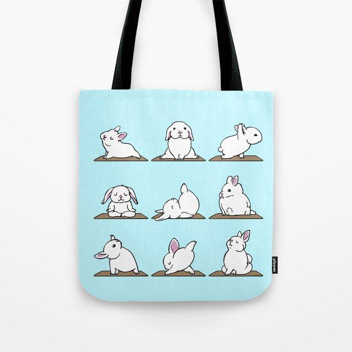 Bunnies Yoga Tote Bag