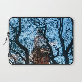 Building with Clock in Buenos Aires Laptop Sleeve