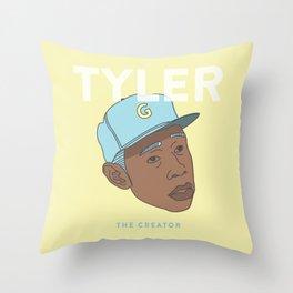 Flower boy Throw Pillow
