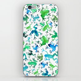 Tree Frogs iPhone Skin
