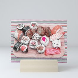 Sushi board II Mini Art Print