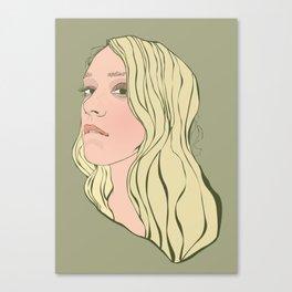 Chloe Sevigny Canvas Print