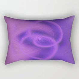 Purple daze 4 Rectangular Pillow