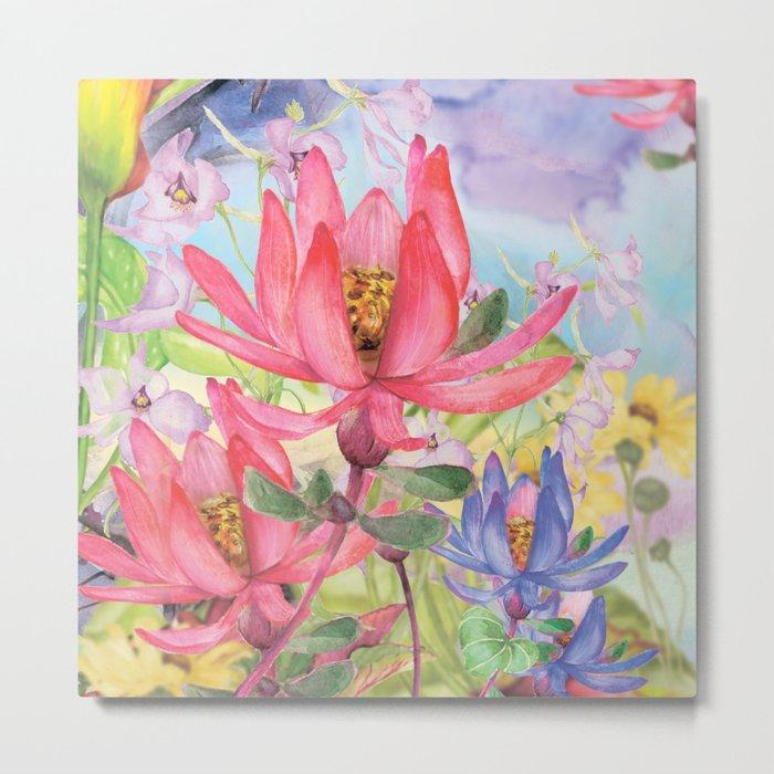 Macro Flower #20 Metal Print